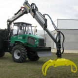 Dingo  Forwarder Tractor Forestier Cu Macara